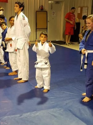 students in kids martial arts in El Paso - Briggs MMA
