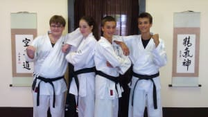 students in kids karate in St. Louis - Dave Hanson's Gateway Karate