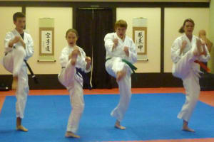students in teen and adult karate  in St. Louis - Dave Hanson's Gateway Karate