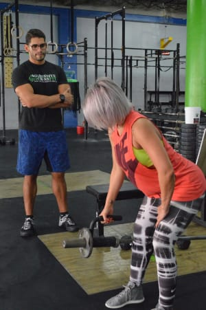 students in personal training  in San Juan - Aggressive Fitness