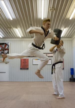 students in adult martial arts in Dover - Dover Dragons Tae Kwon Do