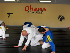 students in brazilian jiu jitsu  in San Antonio - Ohana Academy
