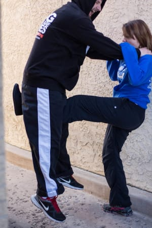 students in self defense in Colorado Springs - Calvary Family Martial Arts And Fitness