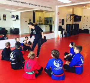 students in kids martial arts in Jupiter - Symmetry Martial Arts