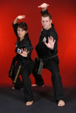 students in adult martial arts  in Houston - Meyerland Martial Art Center