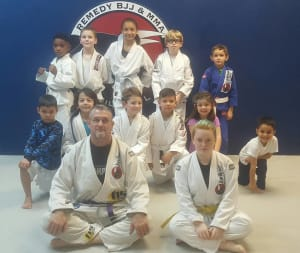 students in kids martial arts  in Pace - Team Remedy BJJ And MMA