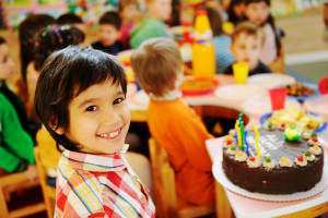 students in birthday parties in Five Towns - Warren Levi Martial Arts & Fitness
