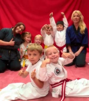 students in kids martial arts   in Telford - Kyushinkai Martial Arts & Fitness