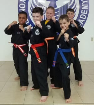 students in kids martial arts in Kenner - Yonsei Martial Arts Academy