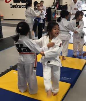 students in kids martial arts   in Sacramento - iYa Taekwondo