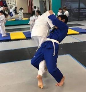 students in judo  in Sacramento - iYa Taekwondo