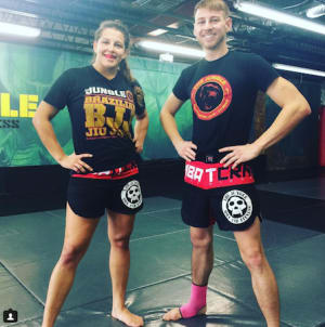 students in muay thai kickboxing  in Orlando - The Jungle MMA And Fitness