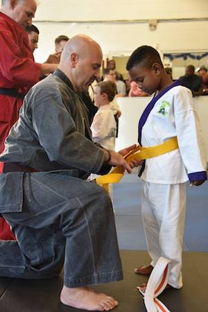 students in Kids Martial Arts  in Akron - Zahand's Martial Arts