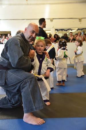 students in preschool martial arts in Akron - Zahand's Martial Arts