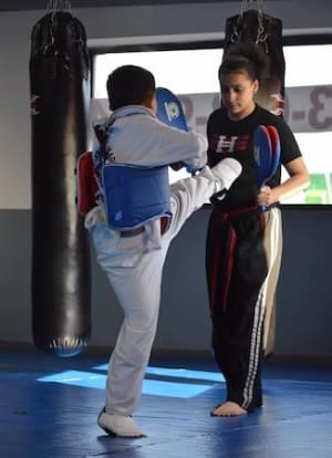 students in kids martial arts  in Paterson - Elite Black Belt Academy