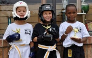 students in kids martial arts in Livonia - Metro United Karate