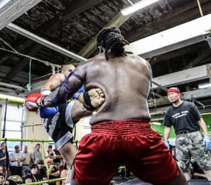 students in muay thai  in 	 Boston - Combat Sports