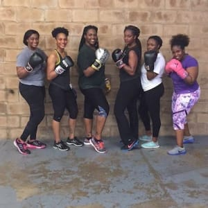 students in Kickboxing  in Houston - USA Fight Company