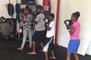 students in Kids Boxing in Houston - USA Fight Company