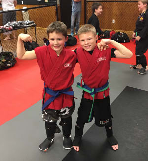 students in kids martial arts in Coventry - Northeast Family Martial Arts