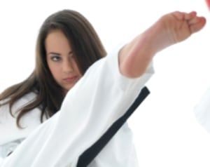 students in Teen Martial Arts and Kickboxing in Gaithersburg - US Martial Arts and Fitness