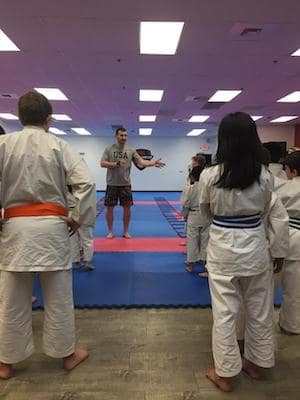 students in kids martial arts  in Summerlin - Hiro Karate