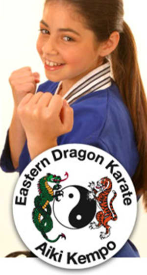 students in kids karate  in Belmont - Eastern Dragon Karate