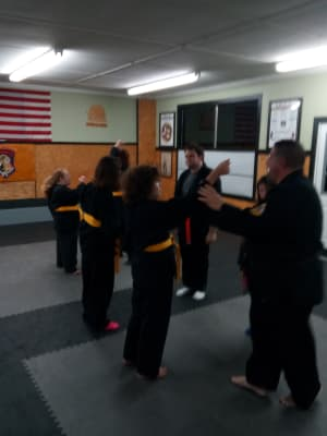 students in Adaptive Karate  in Warwick - West Bay Martial Arts