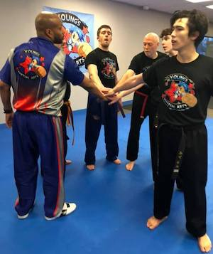 students in Adult Martial Arts in Kettering - Young's Martial Arts
