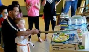 students in birthday parties  in Mint Hill - Premier Martial Arts
