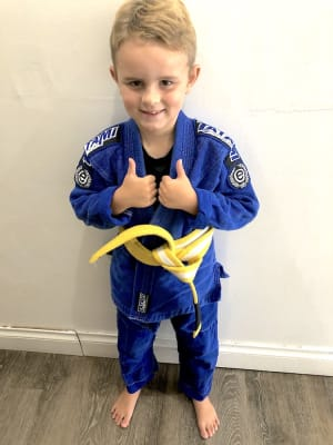 students in Kids Martial Arts  in Naples - Paulo Ribeiro Brazilian Jiu-Jitsu
