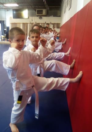 students in kids martial arts in London - Sherbourne Martial Arts Academy: SMAA