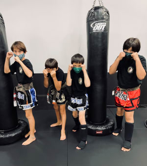 students in Kids Martial Arts in Boulder - Tran's Martial Arts And Fitness Center