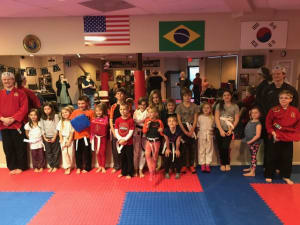students in kids martial arts in Kent Island - Sherman's Martial Arts