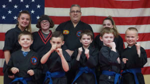students in little eagles in Whitman - The TAMA Dojo