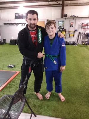 students in Kids Martial Arts  in Shreveport - Carlos Machado Jiu Jitsu - Shreveport