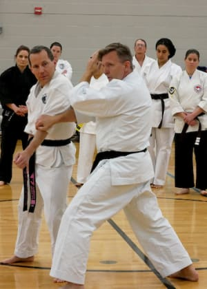 students in adult martial arts  in Keller - American Defensive Arts Academy