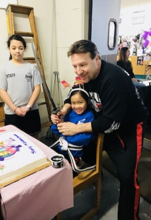 students in birthday parties in CAMBRIDGE - American Martial Arts Center