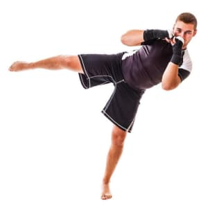 students in fitness kickboxing  in Bryn Mawr - PRO Martial Arts Bryn Mawr