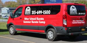 students in afterschool martial arts  in Cicero - Karate John's Martial Arts