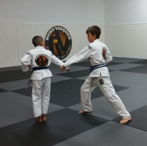students in kids mixed martial arts  in 	 Austin - Vasquez Academy