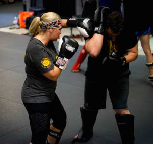 students in fit to fight in St. Charles - MidWest Krav Maga