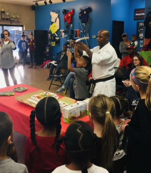 students in Birthday Parties in Omaha - Championship Martial Arts - Omaha