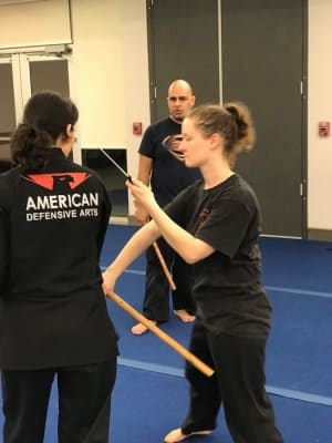 students in kali in Keller - American Defensive Arts Academy
