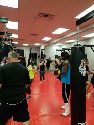 students in fitness kickboxing   in 	 Gonzales - S.I.C.A. MMA