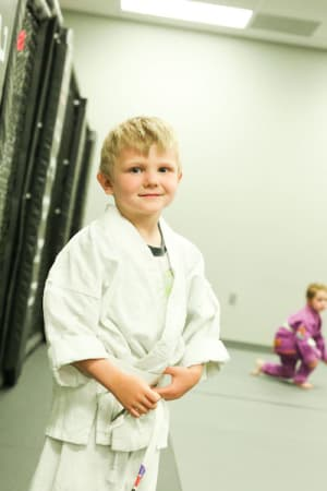students in kids martial arts in Woodward - RYSE MMA