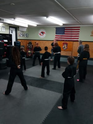 students in teen martial arts  in Warwick - West Bay Martial Arts