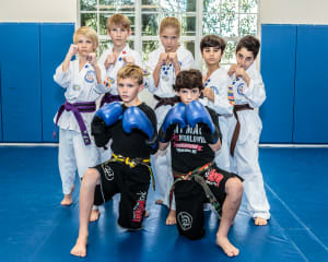 students in Kids Martial Arts in Jupiter - Harmony Martial Arts Center