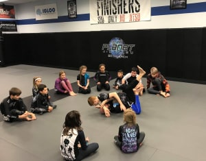 students in Kids Martial Arts in Lehigh Valley - Finishers MMA - 10th Planet Jiu Jitsu