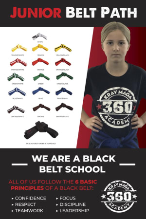 students in kids martial arts  in Long Beach - 360 Krav Maga